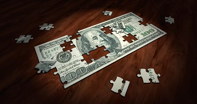 bankovka na puzzle