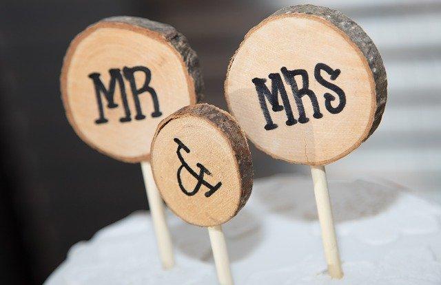 Pan a paní novomanželé
