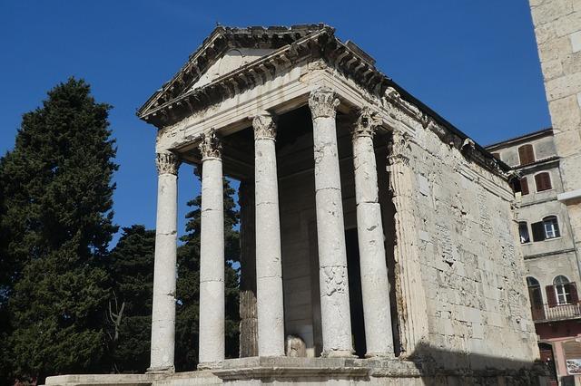 antický chrám